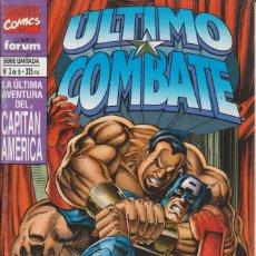 Comics : CÓMIC MARVEL, ÚLTIMO COMBATE / CAPITÁN AMÉRICA Nº 3 ED, PLANETA / FORUM 52 PGS.. Lote 220466957
