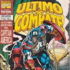 Comics : CÓMIC MARVEL, ÚLTIMO COMBATE / CAPITÁN AMÉRICA Nº 4 ED, PLANETA / FORUM 52 PGS.. Lote 220467046