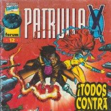 Cómics: CÓMIC MARVEL, PATRULLA X Nº 12 ED, PLANETA / FORUM.. Lote 220471670