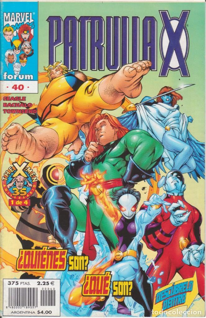 CÓMIC MARVEL, PATRULLA X Nº 40 ED, PLANETA 48 PGS.ESPECIAL 35 ANIVERSARIO X-MEN (Tebeos y Comics - Forum - Patrulla X)