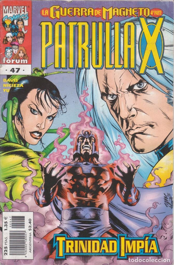 CÓMIC MARVEL, PATRULLA X Nº 47 ED, PLANETA / FORUM (Tebeos y Comics - Forum - Patrulla X)