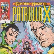 Cómics: CÓMIC MARVEL, PATRULLA X Nº 47 ED, PLANETA / FORUM. Lote 220472432