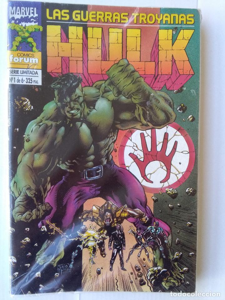 HULK-LAS GUERRAS TROYANAS COMPLETA (Tebeos y Comics - Forum - Hulk)