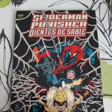 Fumetti: SPIDERMAN PUNISHER DIENTES DE SABLE GENES DE DISEÑO. Lote 220510223