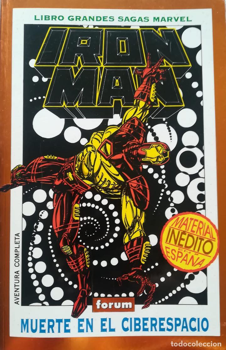 IRON MAN MUERTE EN EL CIBERESPACIO GRANDES SAGAS (Tebeos y Comics - Forum - Prestiges y Tomos)