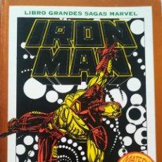 Cómics: IRON MAN MUERTE EN EL CIBERESPACIO GRANDES SAGAS. Lote 220547112