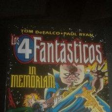 Cómics: LOS 4 FANTASTICOS. IN MEMORIAM. Lote 220572902
