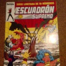 Fumetti: COMIC DE ESCUADRON SUPREMO EN ATRAPADOS EN EL CENAGAL Nº 8. Lote 220577082