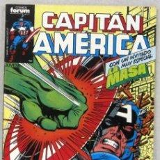 Comics : CAPITAN AMERICA - CON UN INVITADO ESPECIAL, LA MASA - Nº 2 - FORUM - COMIC. Lote 220579915