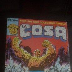 Cómics: LA COSA. RETAPADO 1 AL 5.. Lote 220583402