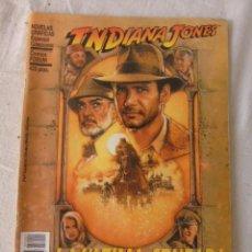 Cómics: INDIANA JONES LA ÚLTIMA CRUZADA CÓMICS FORUM, 1989 ADAPTACIÓN OFICIAL AL CÓMIC DE LA PELÍCULA. Lote 220659216