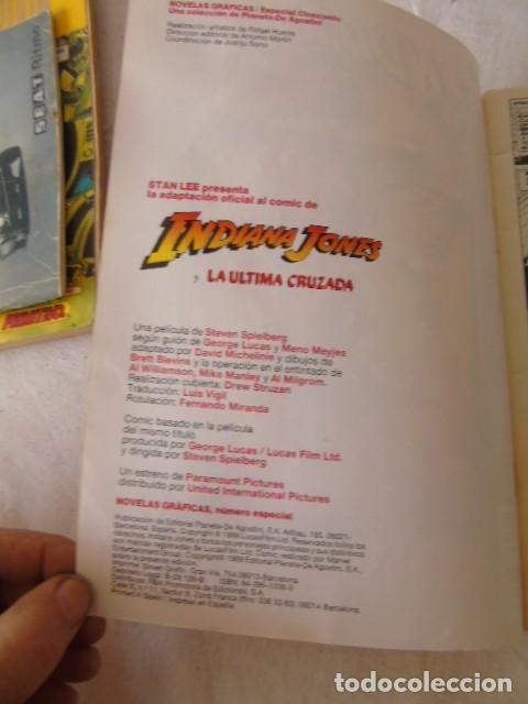 Cómics: INDIANA JONES LA ÚLTIMA CRUZADA CÓMICS FORUM, 1989 ADAPTACIÓN OFICIAL AL CÓMIC DE LA PELÍCULA - Foto 3 - 220659216