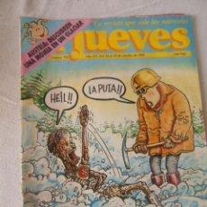 Cómics: EL JUEVES. RESUCITA EL NAZISMO. Nº 751. OCTUBRE. 1991. Lote 220661335