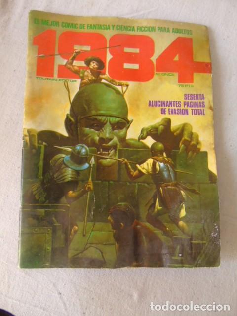 1984 - Nº 11 - EL COMIC DE LA FANTASIA Y LA CIENCIA FICCION TOUTAIN (Tebeos y Comics - Forum - 4 Fantásticos)