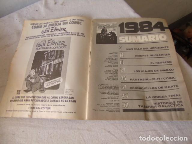 Cómics: 1984 - Nº 11 - EL COMIC DE LA FANTASIA Y LA CIENCIA FICCION TOUTAIN - Foto 2 - 220661811