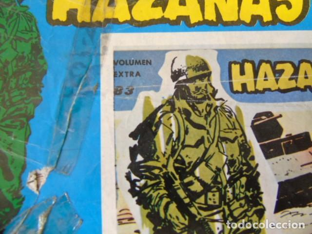 Cómics: CÓMIC HAZAÑAS BELICAS, SERIE AZUL. VOLUMEN EXTRA, Nº83. - Foto 2 - 220662033