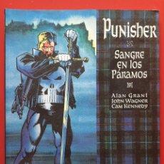 Comics : NOVELAS GRAFICAS MARVEL VOL. 2 # 18 (FORUM, 1994) PUNISHER: SANGRE EN LOS PÁRAMOS. Lote 220663398