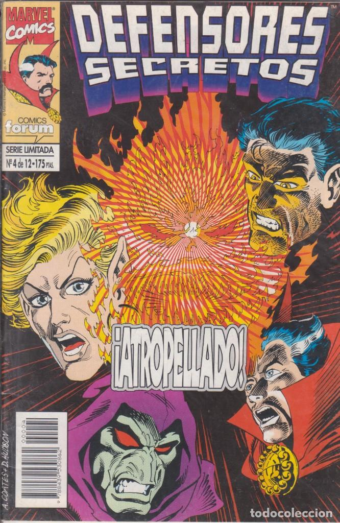 CÓMIC MARVEL, DEFENSORES SECRETOS Nº 4 ED, PLANETA / FORUM (Tebeos y Comics - Forum - Otros Forum)