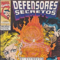Cómics: CÓMIC MARVEL, DEFENSORES SECRETOS Nº 4 ED, PLANETA / FORUM. Lote 220686572