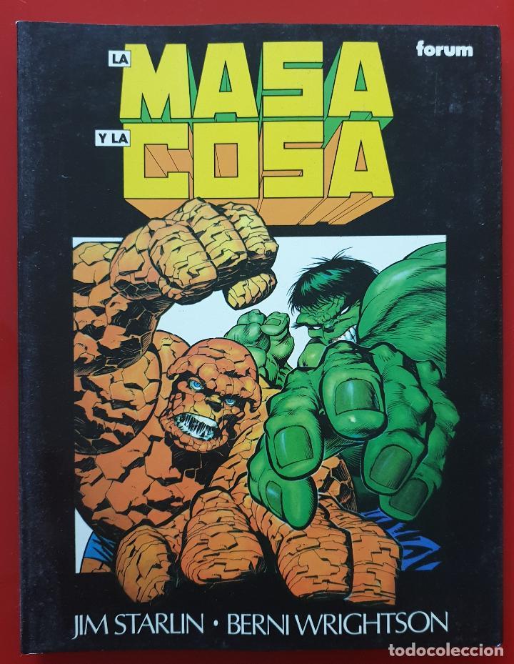 NOVELAS GRAFICAS MARVEL VOL. 2 # 13 (FORUM, 1993) LA MASA Y LA COSA: EL GRAN CAMBIO (Tebeos y Comics - Forum - Prestiges y Tomos)