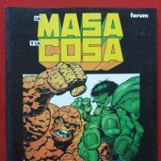 Comics : NOVELAS GRAFICAS MARVEL VOL. 2 # 13 (FORUM, 1993) LA MASA Y LA COSA: EL GRAN CAMBIO. Lote 220690246