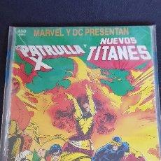 Fumetti: PATRULLA X Y NUEVOS TITANES. Lote 220757668