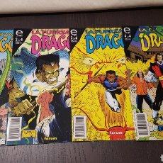 Cómics: CÓMICS - LA FUERZA DEL DRAGON COMPLETA (4 NUMEROS) - EPIC COMICS - FORUM. Lote 220767897