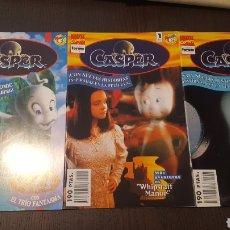 Cómics: COMICS - CASPER ADAPTACION AL COMIC DE LA PELICULA DE SPIELBERG (FORUM) - 1995 + MINISERIE DE 2 NUMS. Lote 220846907