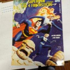 Cómics: SUPERMAN- LOS 4 FANTASTICOS EDICIÓN GIGANTE NUMERO ÚNICO DAN JURGENS Y ART THIBERT FORUM. Lote 220875441