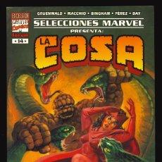 Comics : SELECCIONES MARVEL - FORUM / NÚMERO 14 (LA COSA. EL CASO DE LA CORONA SERPIENTE). Lote 220895047
