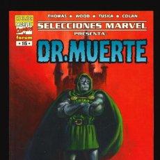 Comics : SELECCIONES MARVEL - FORUM / NÚMERO 16 (DR. MUERTE. EL DÍA DE MUERTE). Lote 220897850