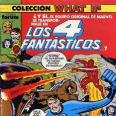Cómics: WHAT IF? VOL.1 Nº 6 - FORUM. Lote 220918026