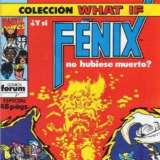 Cómics: WHAT IF? VOL.1 Nº 37 - FORUM. Lote 220918425