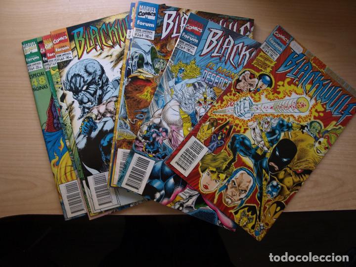 BLACKWULF - SERIE LIMITADA DE 9 NÚMEROS - COMPLETA - COMIC FORUM - BUEN ESTADO (Tebeos y Comics - Forum - Otros Forum)