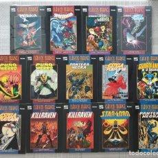 Cómics: CLASICOS MARVEL B/N. COLECCIÓN COMPLETA DE 14 TOMOS. COMICS FORUM 1997. Lote 220939115