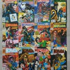 Comics: NOMADA. COLECCIÓN COMPLETA DE 12 COMICS. COMICS FORUM 1993.. Lote 220939905