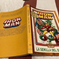 Fumetti: LIBRO GRANDES SAGAS MARVEL Nº4 - IRON MAN. LA SEMILLA DEL DRAGÓN TOMO 1- FORUM 1994. Lote 220970792