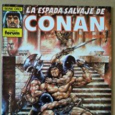 Cómics: LA ESPADA SALVAJE DE CONAN 164. Lote 220975187