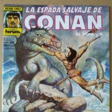 Cómics: LA ESPADA SALVAJE DE CONAN 166. Lote 220975460