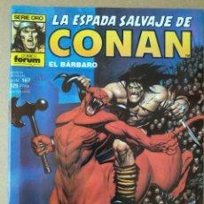 Cómics: LA ESPADA SALVAJE DE CONAN 167. Lote 220975567