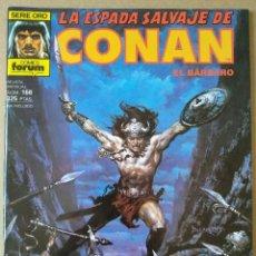 Cómics: LA ESPADA SALVAJE DE CONAN 168. Lote 220975675