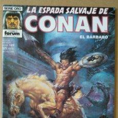 Cómics: LA ESPADA SALVAJE DE CONAN 169. Lote 220975807