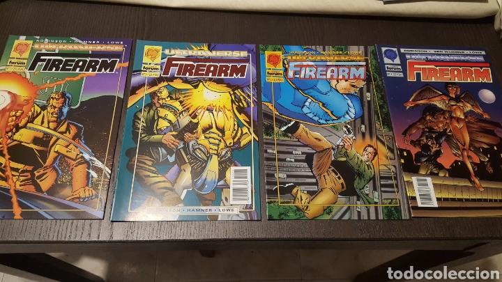 COMICS - FIREARM 1 A 4 COMPLETA - ULTRAVERSE - FORUM - JAMES ROBINSON, CULLY HAMNER, LOWE , (Tebeos y Comics - Forum - Otros Forum)