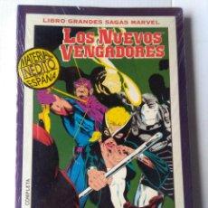 Cómics: LIBRO GRANDES SAGAS MARVEL-LOS NUEVOS VENGADORES-ÚLTIMO ASALTO. Lote 220990177