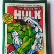 Cómics: LIBRO GRANDES SAGAS MARVEL-EL INCREIBLE HULK-FANTASMAS DEL PASADO. Lote 220990873