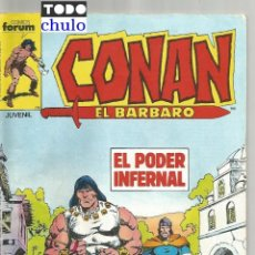 Fumetti: CONAN EL BARBARO Nº 134 COMICS FORUM. Lote 220993582