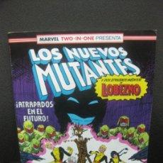 Cómics: LOS NUEVOS MUTANTES Y DOS EPISODIOS INEDITOS DE LOBEZNO. Nº 47. FORUM.. Lote 221104378