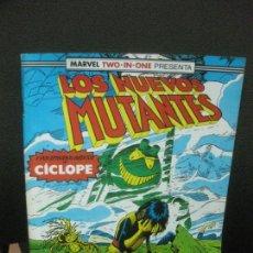 Comics : LOS NUEVOS MUTANTES Y DOS EPISODIOS INEDITOS DE CICLOPE. Nº 53. FORUM.. Lote 221106748
