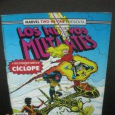 Comics : LOS NUEVOS MUTANTES Y DOS EPISODIOS INEDITOS DE CICLOPE. Nº 54. FORUM.. Lote 221106970