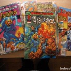 Fumetti: LOS 4 FANTASTICOS - VOL. III - COMPLETA 34 NÚMEROS - COMIC FORUM - NUEVOS. Lote 221119826